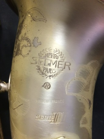 Selmer serie III Limited Edition altsax 06